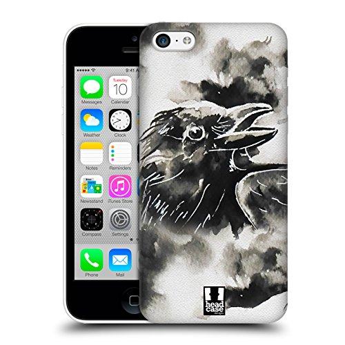 Head Case Designs Zebra Schwarzweisse Tiere Ruckseite Hülle für Apple iPhone X Krähe