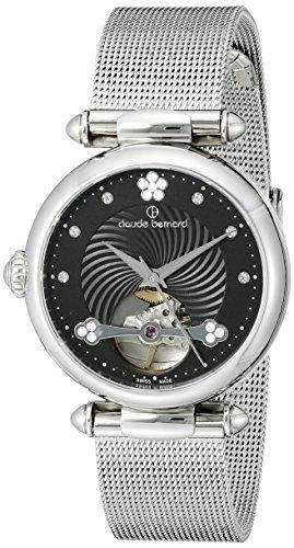 Claude Bernard Women's 85022 3M NPN Dress Code Analog Display Swiss Automatic Silver Watch