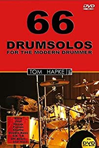 66 Drum Solos for the Modern Drummer [Import allemand]