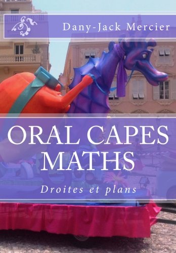 ORAL CAPES MATHS : Droites & plans