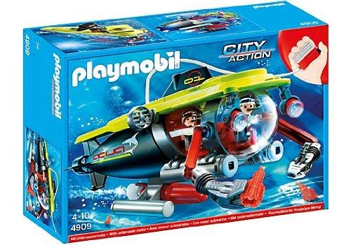 Playmobil - Submarino de Alta mar con Motor 4909