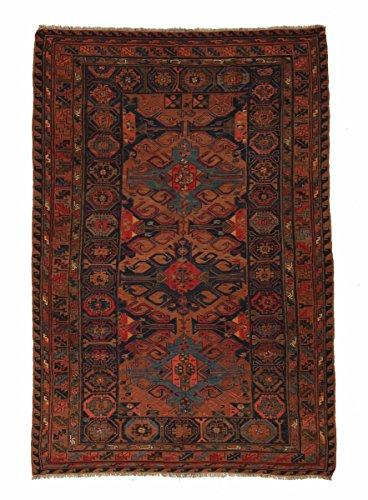 Nain Trading Kelim Soumak 300x190 Orientteppich Teppich Dunkelgrau/Rost Handgeknüpft Russland -