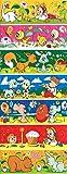 Ukrainisches-Kunsthandwerk, Ostereier Folie. Kinderzeichnungen. Nr.2 reicht für 7 Eier