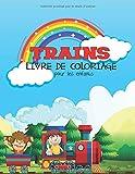 Trains Livre De Coloriage Pour Les Enfants