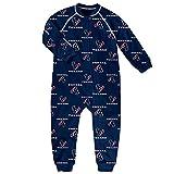 Houston Texans NFL Toddler Raglan Zip Up Sleeper