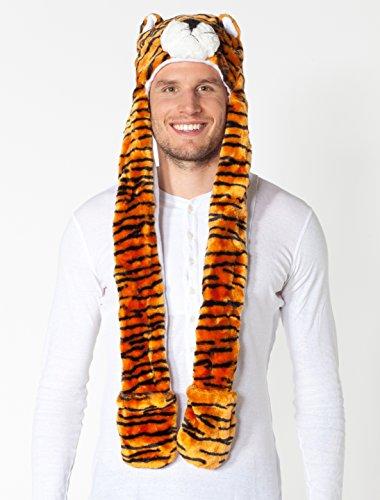 Mütze Tiger Plüsch keine Größe (Plüsch Tiger Kinder Kostüme)
