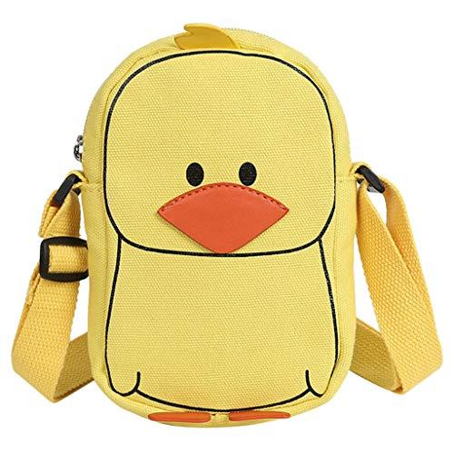 NMERWT Frauen Umhängetasche Taschen Wilde Erwachsene Kinder Umhängetaschen Damen Wild Funny Duck Shoulder Messenger Bag Handtasche - Messenger Ogio Tasche