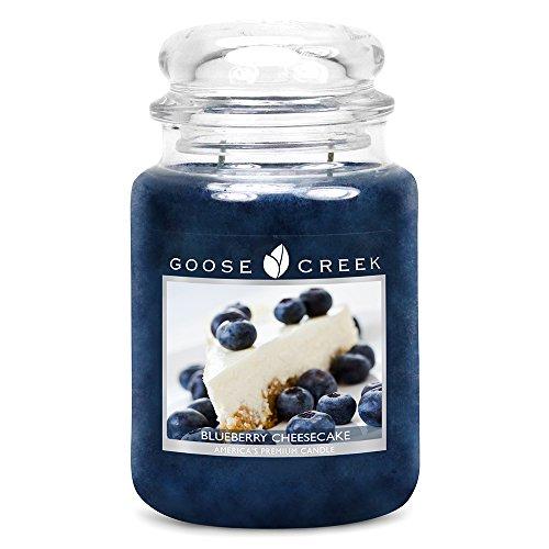 Goose Creek Große Jar Duftkerze Blueberry Cheesecake 24oz (680g) -