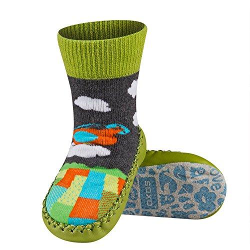 Sevira Kids, Baby Babyschuhe - Lauflernschuhe  mehrfarbig Lapin 1 0-24 Monate, 13 cm Garçon 3-C