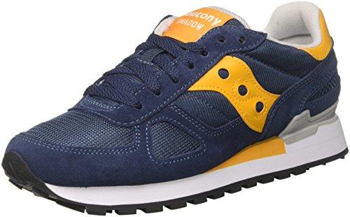 Saucony Herren Shadow Original Laufschuhe Multicolore (Blue/Yellow 693) 44.5 EU - 13 Herren Größe Saucony