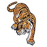 #5: Leoie Tiger Embroidered Cloth Stickers Patch Applique Badge for Clothing Decoration