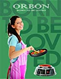 ORBON 700 Watt Baby G Coil Stove with on-off Indicator Hot Plate Induction Cooktop/Cookers/Electric Cooking Heater (Silver Chrome)