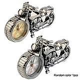 OurLeeme Motorrad-Motorrad-Muster Wecker Kreatives Haupt Geburtstags-Geschenk k¨¹hle Taktgeber