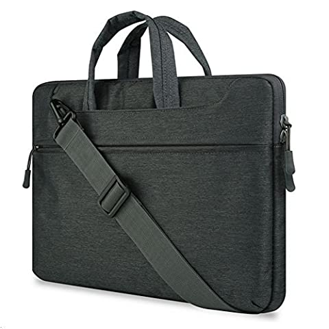 GADIEMENSS Water-resistant Laptop Shoulder Briefcase Bag Portable Computer case handbag For Apple Macbook Air Pro 13.3