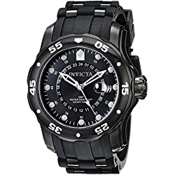 Invicta 6996 48.80mm Stainless Steel Case Black Polyurethane flame fusion Men's Watch