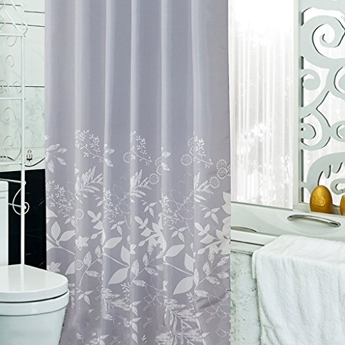 Rideaux de douche Rideau de douche Polyester Salle de bain imperméable Baignade Salle de bain Mode Cosy Simple Belle Durable ( taille : 200X180CM )