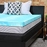 Best 3 Inch Memory Foam Mattress Topper Queens - Sealy Performance 3-Inch Gel Memory Foam Mattress Topper Review