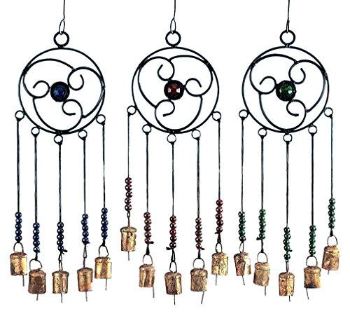 stealstreet 41,9cm Keltisches Chime mit Glocken und Glas Accent