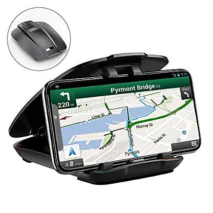 Cocoda-Handyhalter-frs-Auto-Handyhalterung-Auto-Armaturenbrett-Blickwinkel-Einstellbar-Rutschfest-fr-Alle-35-65-Gerte