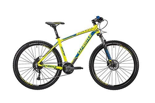 WHISTLE Bici Miwok 1832 27.5'' 9-Velocità taglia 46 giallo/blu 2018 (MTB Ammortizzate)/Bike Miwok 1832 27.5'' 9-Speed size 46 blue/yellow 2018 (MTB Front suspension)