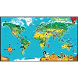 LeapFrog LeapReader World Map (Works with Tag)