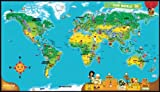 LeapFrog Tag World Map - Mapa educativo, multicolor