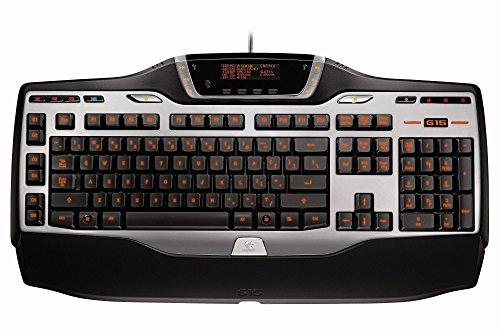 Logitech G15 Gaming-Tastatur schnurgebunden (Refresh) (deutsches Tastaturlayout, QWERTZ) (Wasserdichte Tastatur Logitech)