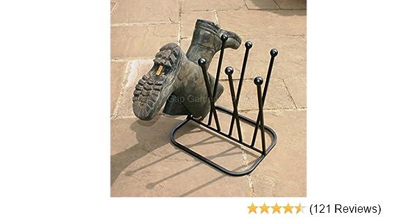 Cast Iron Boot Scraper Vintage Shoe Door Antique Stand Holder Mud Rack Classic