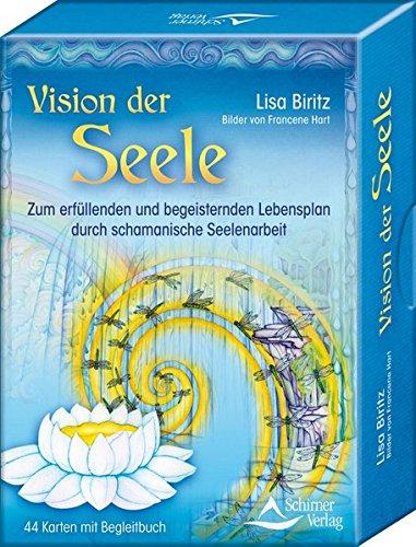 Vision der Seele: Zum erfüllenden und begeisternden Lebensplan durch schamanische Seelenarbeit, Set mit 44 Karten -