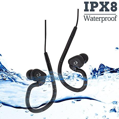 100% wasserdichter Schwimmkopfhörer (In-Ear) für Schwimmen, Laufen und alle Arten von Sport (PS: nur wasserfeste Kopfhörer ohne MP3-Player) (Felix)