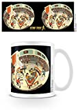 Star Trek - Bridge Crew) 50th Anniversar Tazza Da Caffè Mug (9 x 8cm)