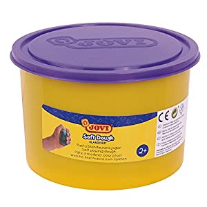 Jovi - Soft Dough Blandiver, Bote de 460 g, Color Violeta (46006)