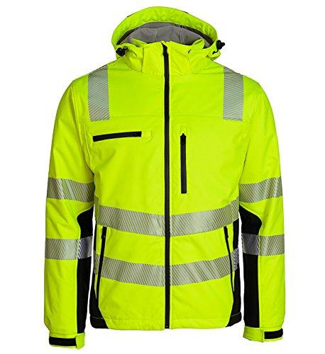 """Preisvergleich Produktbild Asatex PTW-SP L 78 Warnschutzjacke """"Prevent Trendline"""" Softshell, Gelb/schwarz, L"""
