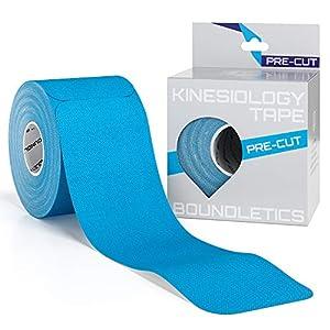 Boundletics Kinesiologie Tape vorgeschnitten – Physiotape 5cm mit Anleitung