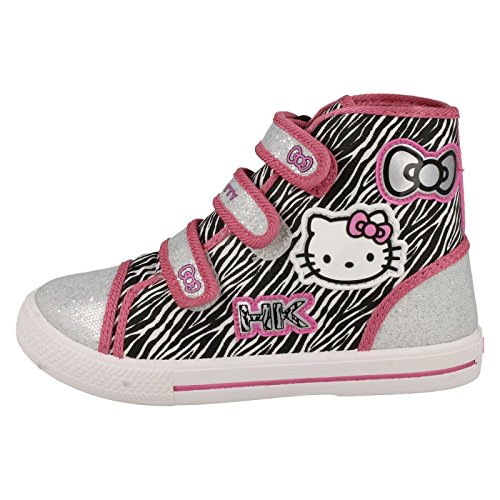 Hello Kitty , Chaussons montants fille rose/multicolore