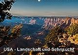 USA – Landschaft und Sehnsucht (Wandkalender 2017 DIN A2 quer): Faszinierende Eindrücke aus dem wunderbaren Südwesten der USA. (Monatskalender, 14 Seiten ) (CALVENDO Orte)
