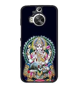 Fuson Lord Vigenesh Designer Back Case Cover for HTC One M9 Plus :: HTC One M9+ :: HTC One M9+ Supreme Camera (Ganesh Balaganapati Bhalchandra Bhupati Bhuvanpati Chaturbhuj Vinayagar Sampath Lord)
