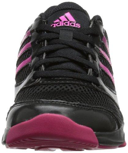 adidas Arianna II, Chaussures de gymnastique femme Noir - Schwarz (Black/Ray Pink F13/Blast Pink F13)