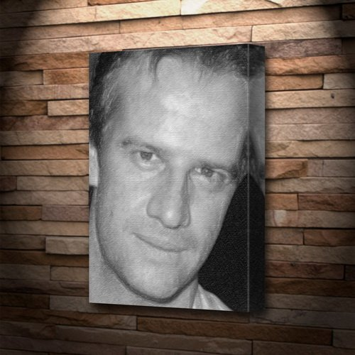 CHRISTOPHER LAMBERT - Canvas Print (LARGE A3 - Signed by the Artist) #js001