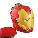Iron Man Helm Keksdose mit Deckel aus Keramik