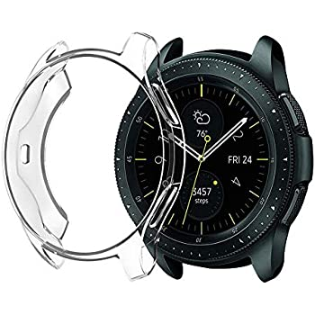 Haodene Coque Etui Protecteur en TPU pour Samsung Gear S3 Frontier/Galaxy Watch 42MM SM-R810 / 46MM SM-R800.