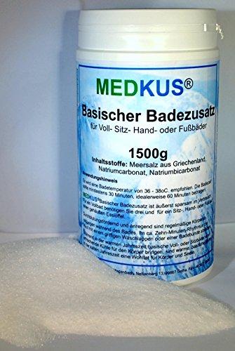 MEDKUS® - Basisches Badesalz 1500g