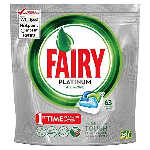Fairy Platinum Cápsulas Lavavajillas - 3 packs x