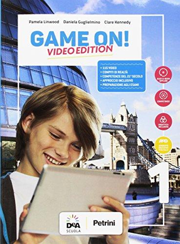 Game on! student's book-workbook. per la scuola media. con audio formato mp3. con e-book. con espansione online. con dvd-rom. con libro: maps: 1