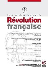 Annales historiques de la Révolution française nº 366 (4/2011)