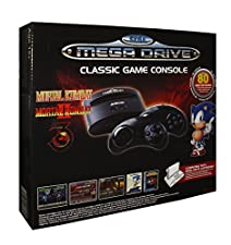 SEGA Mega Drive / Genesis Wireless Retro Console with 80 Video Games