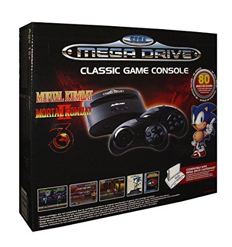 console-sega-megadrive-classic-sans-fil-80-jeux-port-cartouche-edition-mortal-kombat