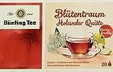 Bünting Tee Blütentraum Holunder Quitte 20 x 2.5 g Beutel, 12er Pack (12 x 50 g)