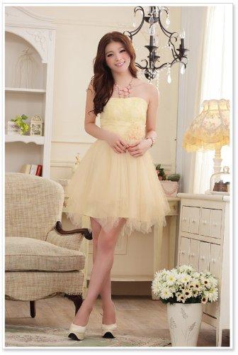 VIP Dress Inebriante Abito da sera di Chiffon in beige Beige