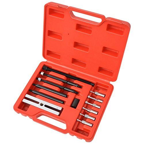 vidaXL Kit Coffret d'extracteurs de roulements de petit insert 16 piècespas cher
